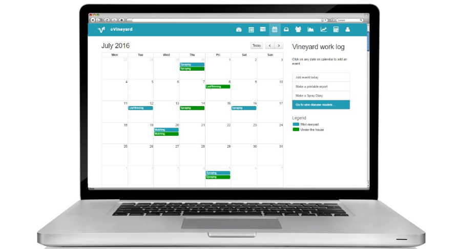 How Electronic Calendar Can Help With Vineyard Management