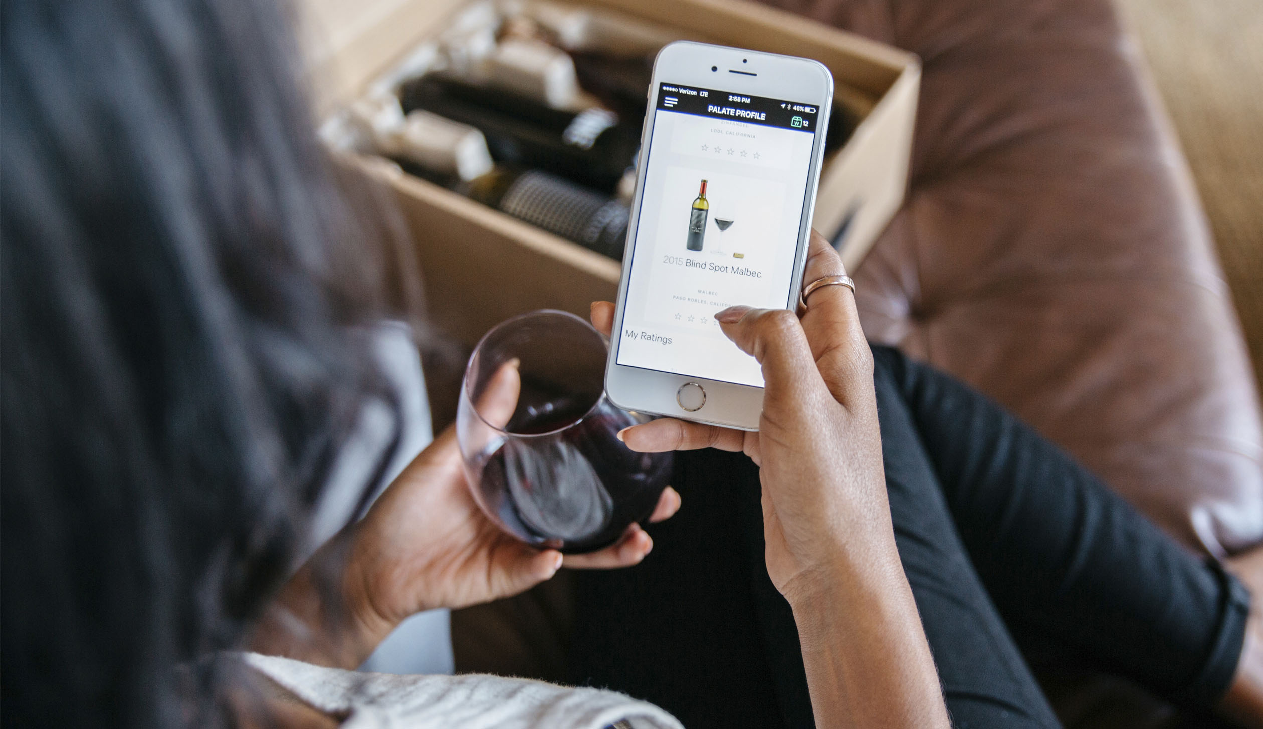 technology boost wine sales