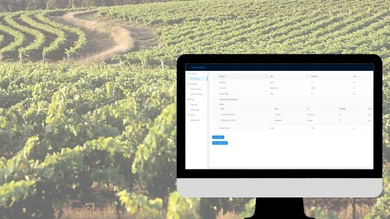 Using Blockchain in vineyard