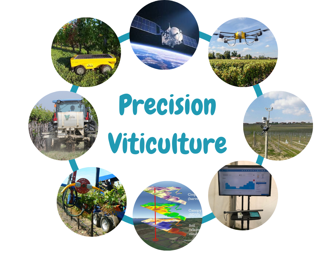 Precision viticulture technology as a key to producing premium quality wines in changing climate, part 1