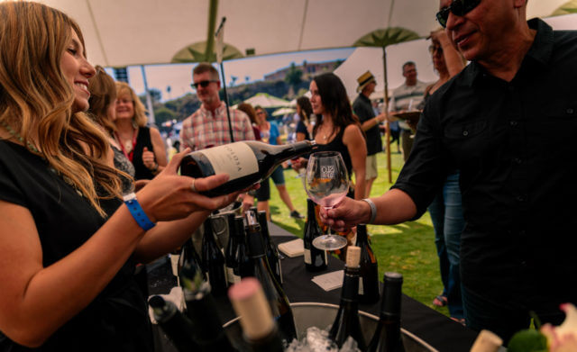 winery at open-air-event