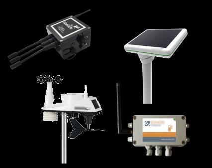 Maintainance-free vineyard weather station sensor node.