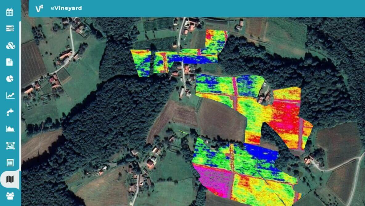 Earth observation satellite and drone imagery support